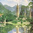 3 Pagoden, China (Dali)