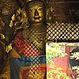 Buddha unter Glas, China