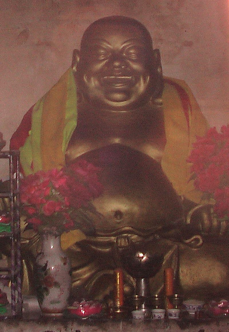 Buddha der Zukunft Dali China