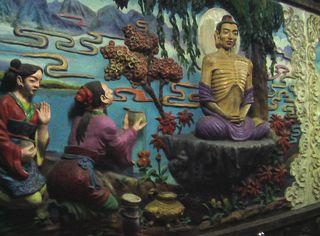 Buddha Wandbild 3