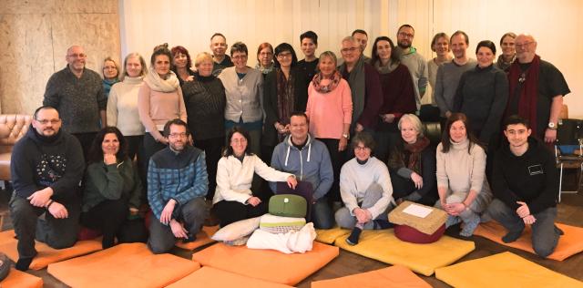 Meditationswochenende im Bola mit Yuka Nakamura: Die Gruppe