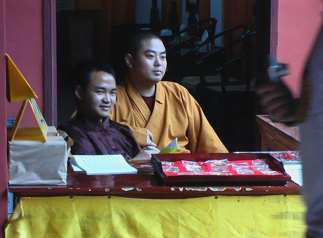 Mönche, China