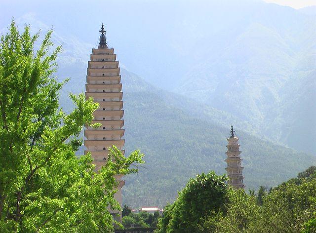 Drei Pagoden, China (Dali)